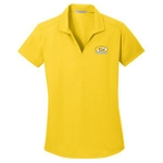 KM04/L572<br>PA Ladies Dry Zone Grid Polo
