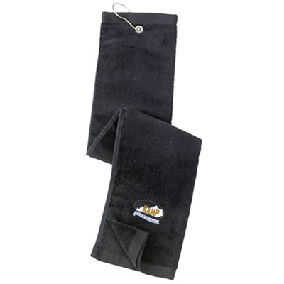 KM40<br>Tri Fold Grommeted Golf Towel